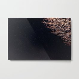 The stars kept me up thinking of you. Metal Print
