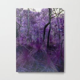 Conway National Park in Purple Metal Print