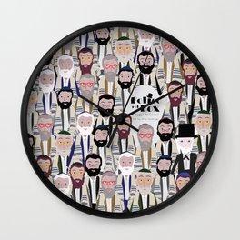 Felice nel Box (Film Poster) Wall Clock