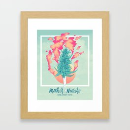 Gift of Mother Nature Framed Art Print