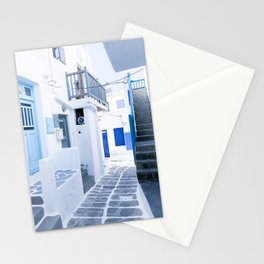 222. From Greece with Love, Mykonos, Greece Stationery Cards