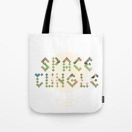Space Jungle '93 Tote Bag
