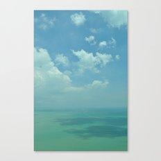 Sea of Blue. Canvas Print