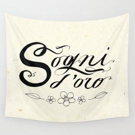 Sogni d'oro Wall Tapestry