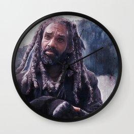 King Ezekiel Of The Kingdom - The Walking Dead Wall Clock