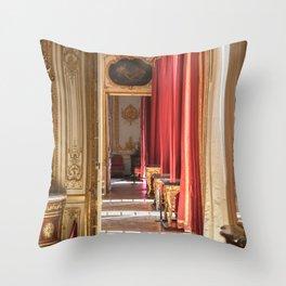 Halls of Gold Throw Pillow