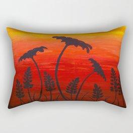 Texas Sunset Rectangular Pillow