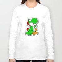 yoshi Long Sleeve T-shirts featuring yoshi by Mike E. Shorts