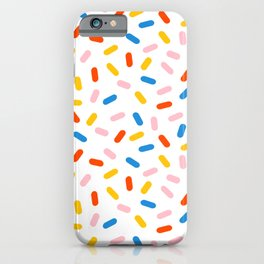 Livin' It - abstract pattern minimal modern primary colors pantone gender neutral retro throwback iPhone Case