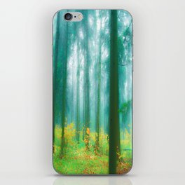 Fairy tale (Green) iPhone Skin
