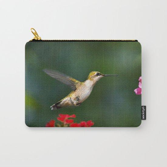 Summer Hummingbird Carry-All Pouch
