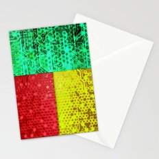 circuit board benin (flag) Stationery Cards