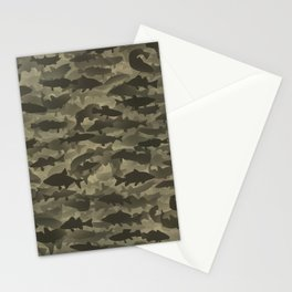 Fresh water fish camouflage Stationery Cards
