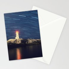 Spinning over the Lighthouse Stationery Cards