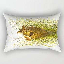 Nuttall's lesser-marsh Wren Rectangular Pillow