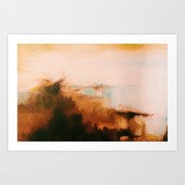 Oil Landscape Art Print