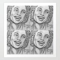 Mike Art Print