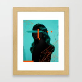 Around minimal design Framed Art Print