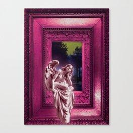 Angel of Bristol (PINK) Canvas Print
