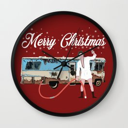Cousin Eddie, Shitter was Full Wall Clock