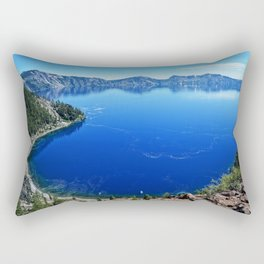 Deep Blue Rectangular Pillow