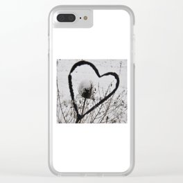 You have melted my heart Clear iPhone Case