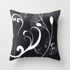 BLACK & WHITE Throw Pillow
