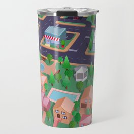Vector City Travel Mug