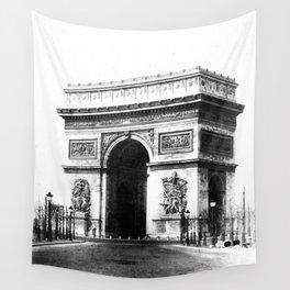 Arc de Triomphe de l'Etoile à Paris 1865 Wall Tapestry
