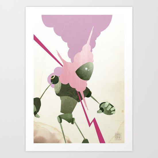 Malfunction Art Print