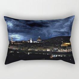 Midnight in Florence Rectangular Pillow