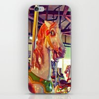 racing iPhone & iPod Skins featuring Still racing by Vorona Photography