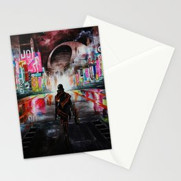 Blade Runner X Tron Stationery Cards
