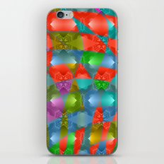 Colorful abstract magic pattern iPhone & iPod Skin