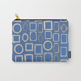 picture frames blue Carry-All Pouch