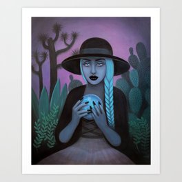 For Crystal Visions Art Print