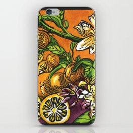 Lemons 1 iPhone Skin