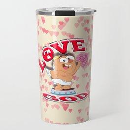 the love god Travel Mug