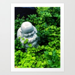 Buddha in Nature Art Print