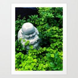 Buddha in Nature Art Print