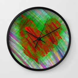 give me all your loving Wall Clock