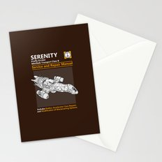 Serenity Service and Repair Manual Stationery Cards
