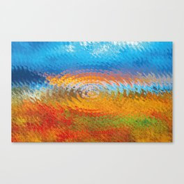 colorful vibrations Canvas Print