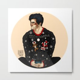 Merry Xmas Derek Metal Print