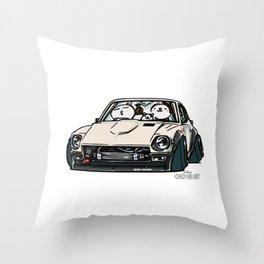 Crazy Car Art 0155 Throw Pillow