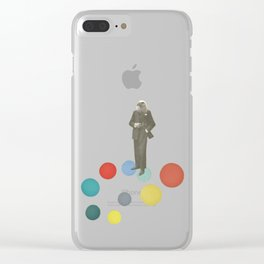 Bird Man Clear iPhone Case
