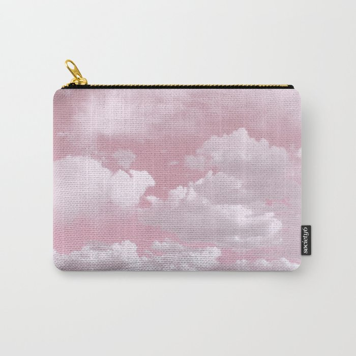 Clouds in a Pink Sky Carry-All Pouch