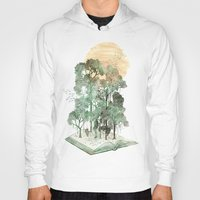 shapes Hoodies featuring Jungle Book by David Fleck