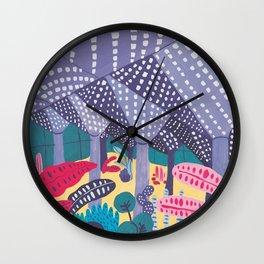 Pier Luigi Nervi - Modernist Architecture Wall Clock