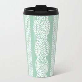 Cable Mint Metal Travel Mug